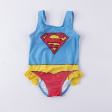 2020new 2-5Year one piece Girls swimwear Girls swimsuit Lace Style Children Swimwear High quality Kids Beach wear Bathing cheap Monica s Dream Polyester One Pieces Fits true to size take your normal size 2020020203