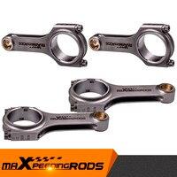 Für Nissan 200SX SR20 SR20DE SR20DET 4PCS Pleuel ARP 2000 Schrauben 136 3mm Conrod Verbinden Stangen Ausgewogene Geschmiedet 4340-in Kolben  Ringe  Stäbe & Teile aus Kraftfahrzeuge und Motorräder bei