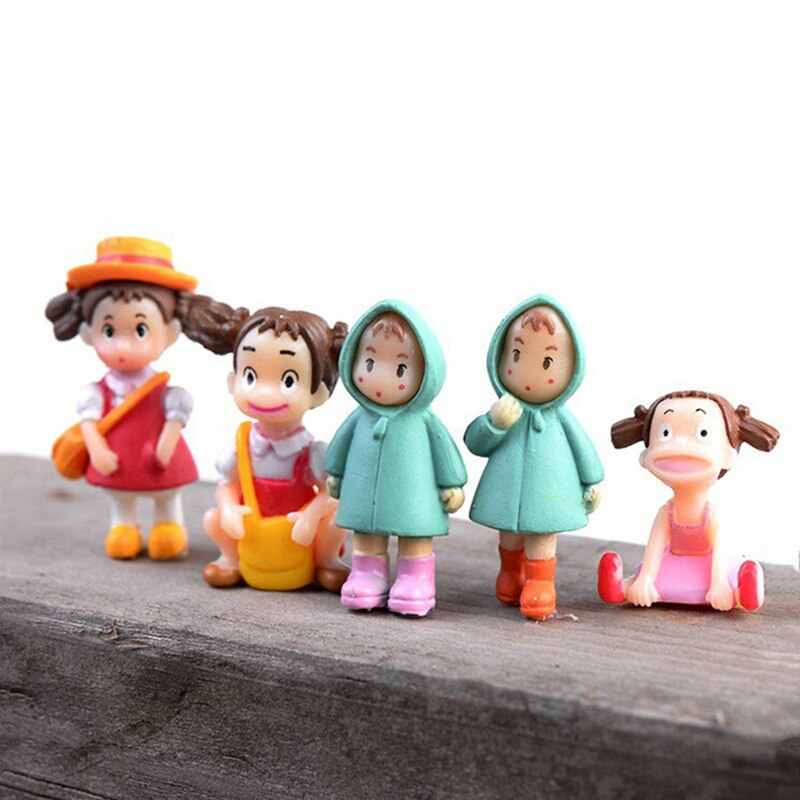 1pcs Toy Mini Garden Decoration Cute Girl Dolls  Micro Landscape Ornaments