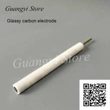 Elétrodo vidrado do carbono do elétrodo de trabalho do carbono 2/3/4/5mm