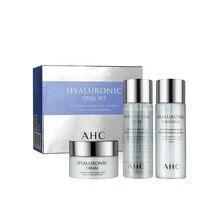 30ml Toner Face-Cream Cosmetics Skin-Care Moisturizing AHC Korean HYLALURONIC Travel-Sets