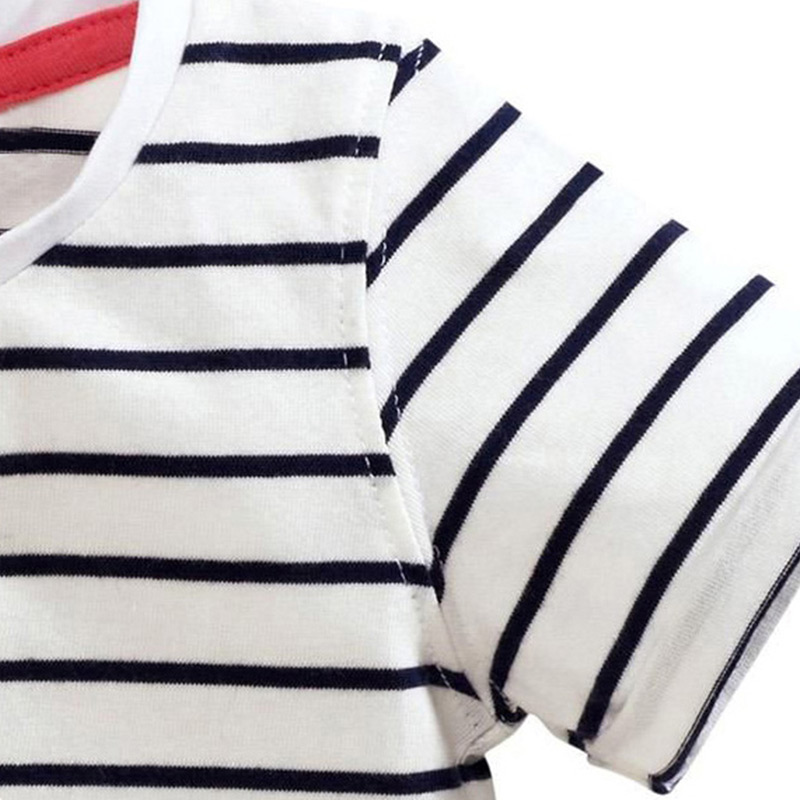 Kids Girl T Shirt Summer Baby Cotton Tops Toddler Tees Clothes Children Clothing Cartoon T-shirts Short Sleeve Casual Wear 5