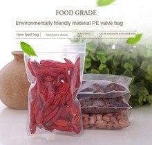 Ziplock Bag Transparent Plastic Bag Plastic Packaging Bag 12x17cm Extra Thick 0.2mm Zipper Sealed Packaging Bag Plastic Food Bag