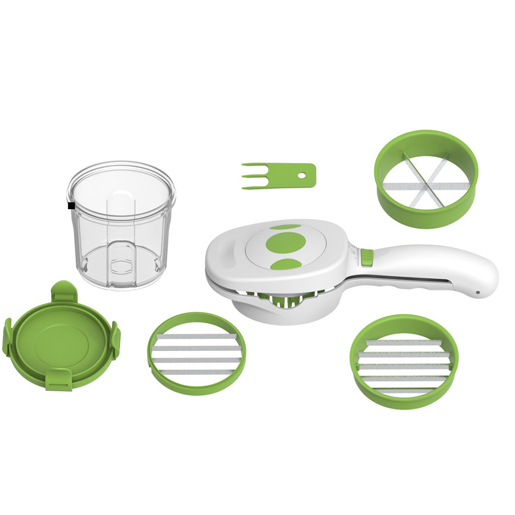 Vegetables Cutter 5 In 1 Fruits Cutter Perfect for Kitchen Cooking Dinner Party/&