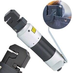 Image 2 - 1 adet hava ile çalışan pnömatik Punch aracı çinko alaşım pnömatik Punch aracı kenar ayarlayıcı Panel flanş 5Mm yumruk araba