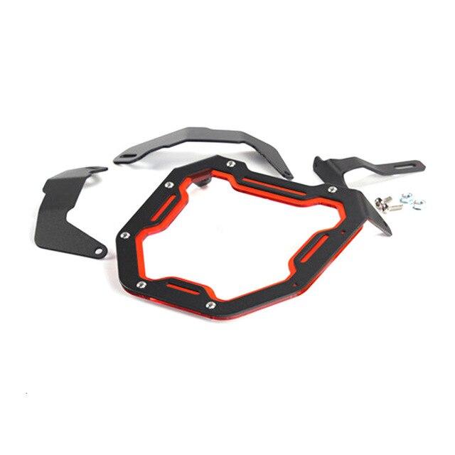 Motorcycle Head Light Mask For Honda Zoomer X110 Headlight Aluminum Alloy Protect Shield Motor Accessories 4