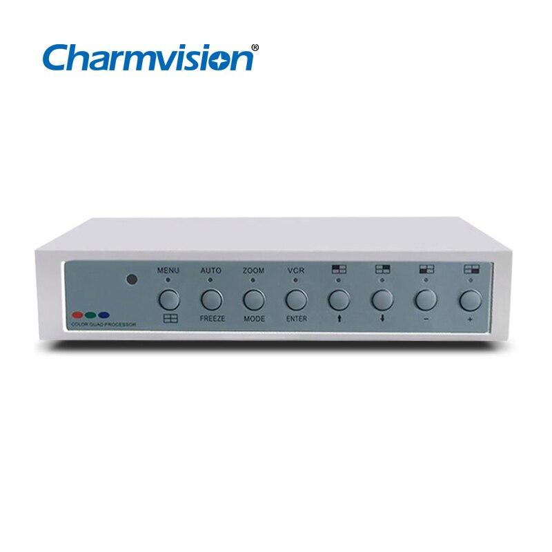 Charmvision VP41AVH 4 Monitor Screen Splitter Coaxial HD 1080P BNC TVI AHD CVI 4-screen Video Quad Splitter With VGA HDMI CVBS