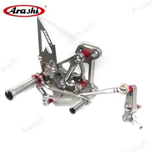 Image 3 - Arashi For MV AGUSTA Dragster 2012 2016 CNC Rider Rearset Adjustable Footrests Foot Pegs 675 EAS Brutale 675 2012 2013 2014 2015