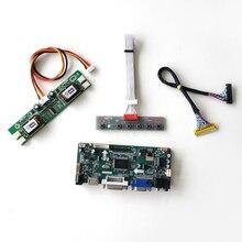 """LM190E08 TLL1/TLL2 용 19 """"1280*1024 LCD 모니터 패널 M.NT68676 디스플레이 컨트롤러 드라이브 카드 CCFL LVDS 30 핀 HDMI DVI VGA 키트"""