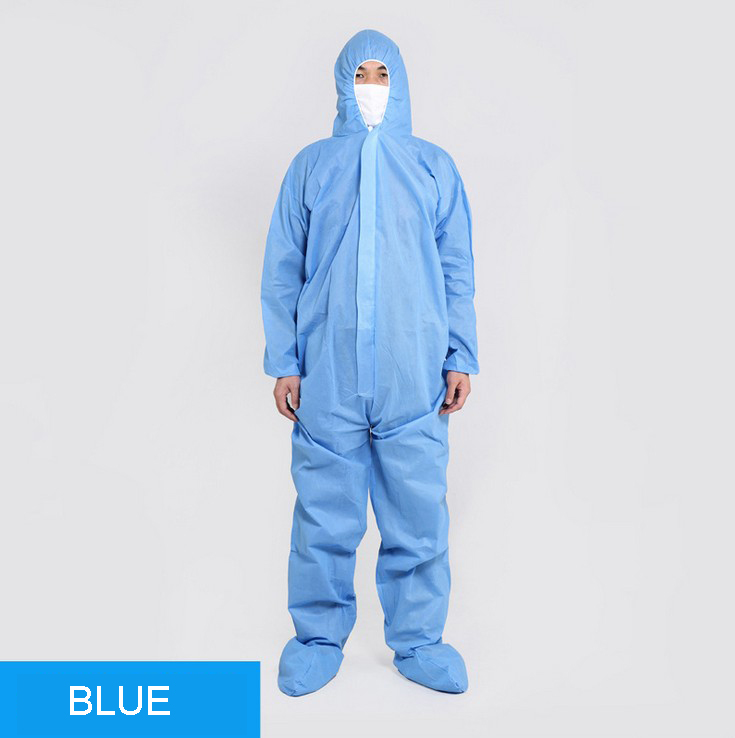 Disposable Waterproof Oil-Resistant Protective Coverall For Virus Protection Spray Paint Decorat Clothes Coverall Suit L/XL/XXL