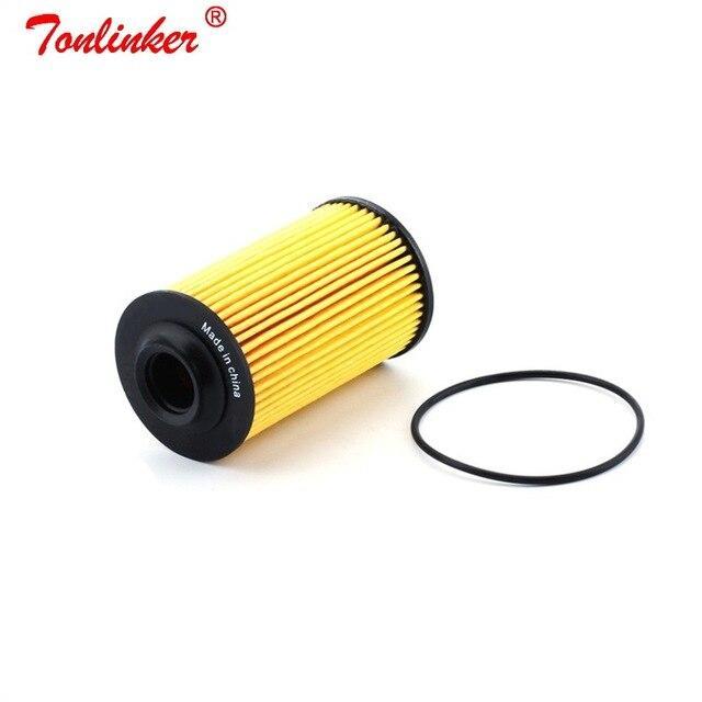 Oil Filter For Cadillac BLS CTS CD3 2.8L 3.0L 3.6L 2006 2011 CD4 2011 2012 SRX CE2 3.6L 2005 2009 Model Filter Car Accessories