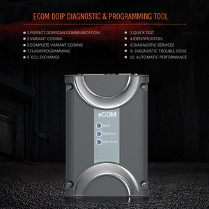 Image 5 - 2019 Benz için ECOM Doip teşhis ve programlama aracı için 2019.12 yazılım USB Dongle ile son Mercedes kadar 2019