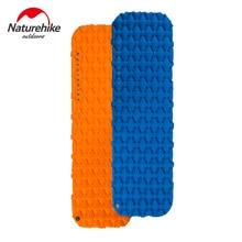 купить Naturehike Outdoor Inflatable Mattress Camping Sleeping Pad Hiking Single Moisture-proof Mat with Air Bag по цене 586.18 рублей