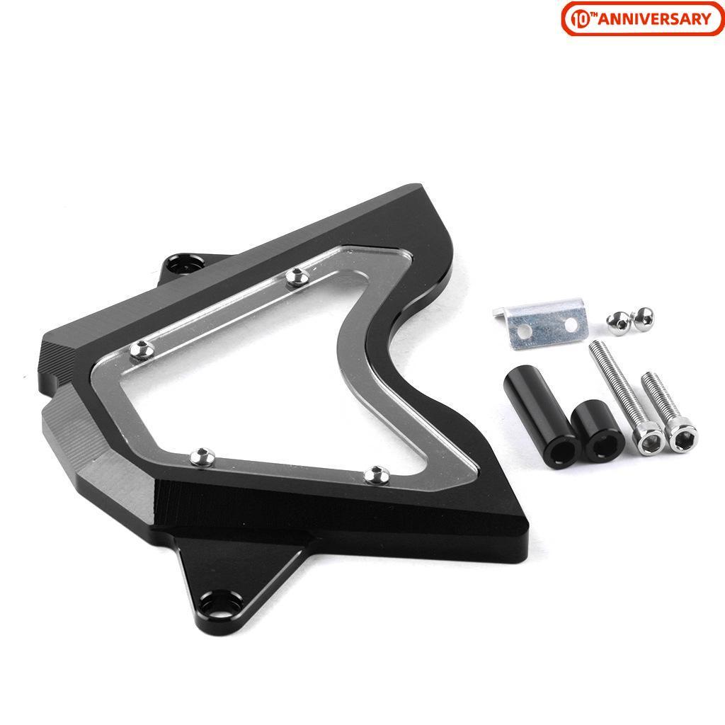 For Yamaha R3 R25 2015 2016 2017 2018 2019 CNC Aluminum Smog Block Off Plate Kit