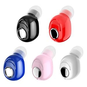 Image 5 - L16 Mini kulak Bluetooth 5.0 kulaklık HiFi spor kablosuz mikrofonlu kulaklık kulakiçi Handsfree Stereo kulaklık akıllı telefonlar için