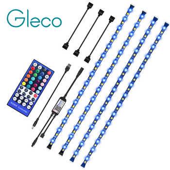 DC 5V LED bande SMD5050 RGBW RGBWW LED bluetooth lampe avec 40Key IR lumière de bande LED usb à distance pour TV PC fond lumineux