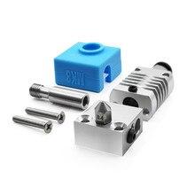 עבור Creality 3D CR10/10S 3D מדפסת MK8 מתכת מכבש ראש סט עבור Ender3/3S CR10 פרו/V2 סדרת 3D אביזרי מדפסת