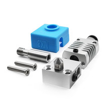 For Creality 3D CR10/10S 3D Printer MK8 Metal Extruder Head Set for Ender3/3S CR10 Pro/V2 Series 3D Printer Accessories