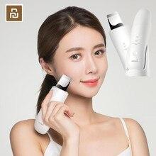 Youpin Wellskins Ultrasonic Facial Skin Scrubber Deep Face Cleaning Peeling Skin Care Device Smart Chip Beauty Instrument