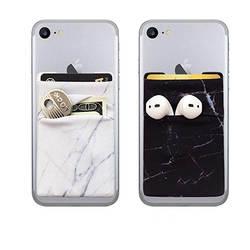 В настоящее время доступна u-образная двухслойная наклейка для телефона s Marbling задняя наклейка для телефона сменная сумка для наушников