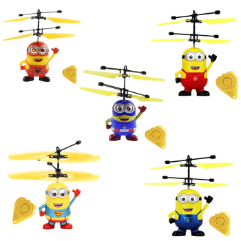 Mini RC drone helicóptero drone volar intermitente helicóptero de Control juguetes RC...