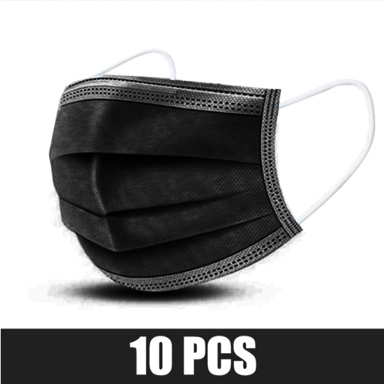 10 pcs black