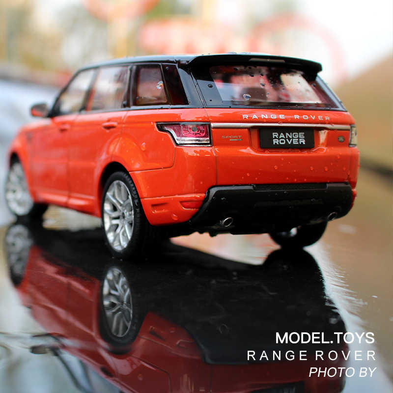 3 Color Alloy 1:24 Range Rover Sports Car Model Static Vechicles Toys Gifts