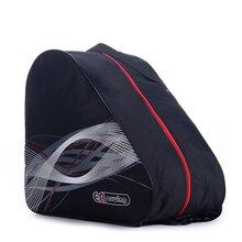 Adult Roller Ice Inline Skate Shoes Ski Snow Boots Bag Portable Oxford Carry GYM Shoulder Big Capacity Waterproof Black