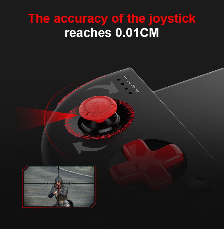 Ipega gamepad pg9087s bluetooth joystick for android ios windows