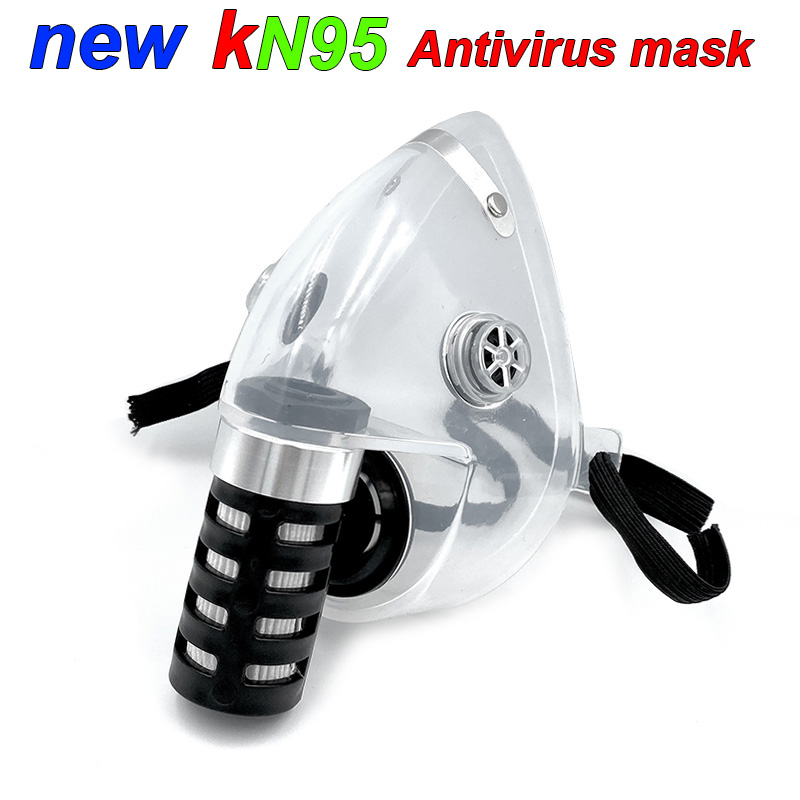 2020 The New Respirator Gas Mask KN95 Level PM2.5 Particulates Safety Mask Prevention Breathe  Droplet Protective Mask