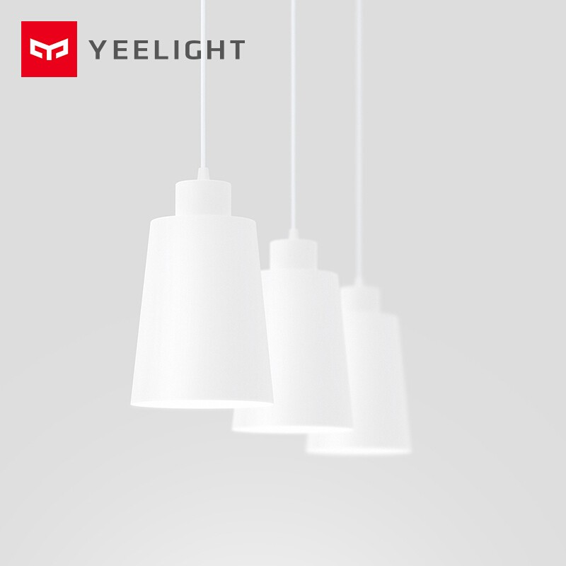Yeelight Three-Head Pendant Light 220V Modern Metal Indoor Lighting 10-15㎡ Use Remote Control For Bedroom Hotel Dining Room