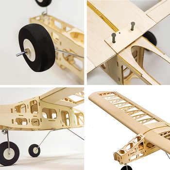 2019 Newest T2501 EP Cloud Dancer Training Plane Balsa Wood 1.3m Wingspan Biplane RC Airplane Aircraft RC Toys DIY KIT Toys Kid