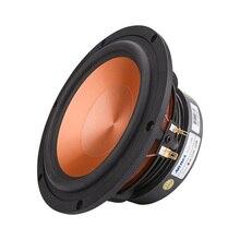 AIYIMA 6,5 Zoll 100W Mitten Tieftöner Hifi Sound Lautsprecher Fahrer 4 8 Ohm Bass Aluminium Lautsprecher DIY Lautsprecher Für bücherregal