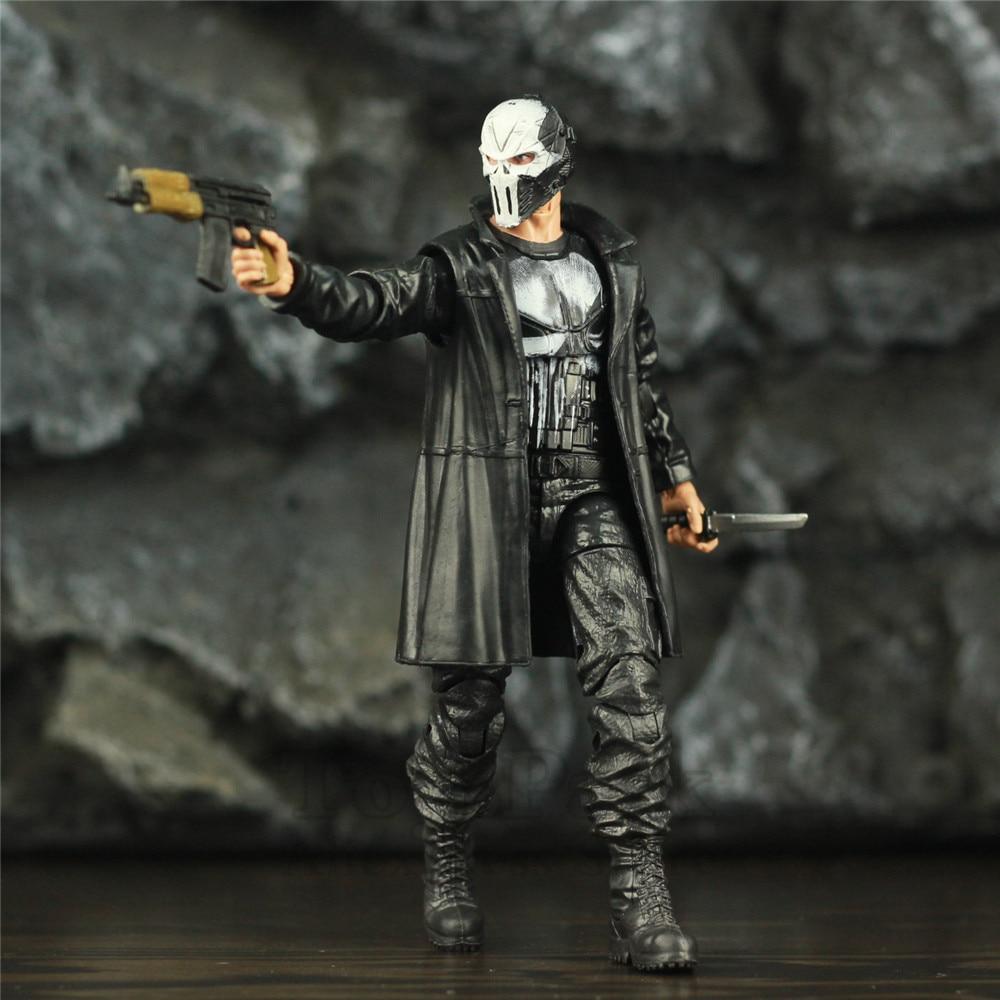 "Image 3 - Custom Marvel Legends Crossbones Mix Punisher Frank Castle TV 6"" Scale Action Figure Man Thing BAF Wave Body 1/12 Head Toys DollAction & Toy Figures   -"