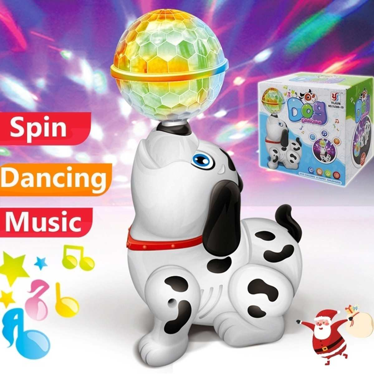 Funny Dance Dog Electronic Toys Musical Singing Walking Electric Toy Dog Pet For Kids Child Baby Gift Lighting Electronic Pets