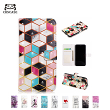 CHNCASE Mediterranean Magnetic Leather Flip Phone Case For iPhone X XSMAX XR 5 5s SE 6 6s 7 8 Plus 11Pro Wallet Cover Cases