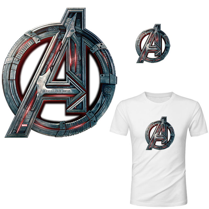 Avengers hulk thor iron on <font><b>patches</b></font> <font><b>for</b></font> <font><b>clothing</b></font> <font><b>marvel</b></font> heat transfer stickers <font><b>for</b></font> T-shirt America movie transfert thermocollants image