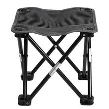 Складной табурет для кемпинга, переносное рыболовное кресло, открытый бездельник стул для альпинизма, пеших прогулок, барбекю, пикника, путешествия