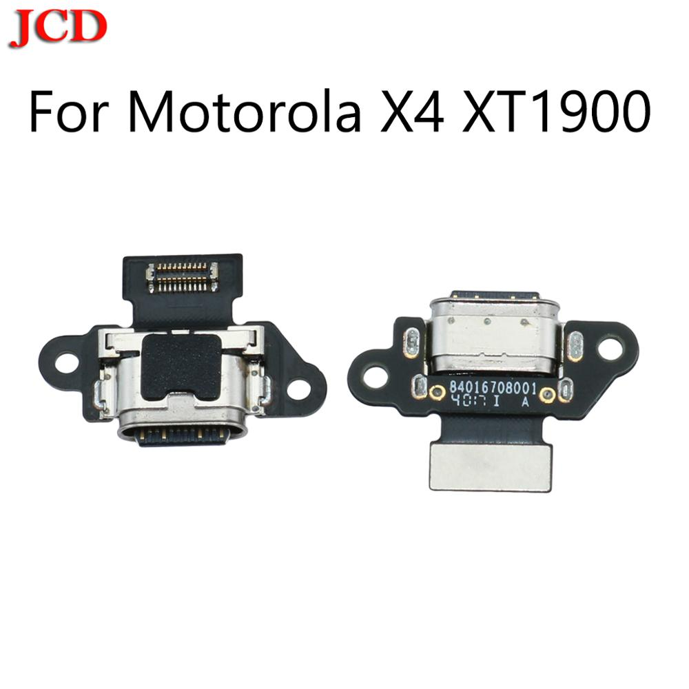 JCD New For Motorola X4 USB Charging Port Dock Jack Plug Connector Charge Board Flex Cable For Motorola Moto X4 X 4th XT1900