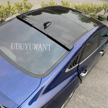 UBUYUWANT For Hyundai LAFESTA 2017-2020 Rear Roof Window Spoiler Black Car Boot Lip Wing Decoration Car Styling For LAFESTA фото