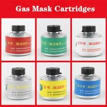 Маска, респиратор, угольные фильтры, промышленные химические противогаз, картриджи, канистра, органические пары, кислота, щелочь, аммиак CO H2S