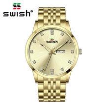 Часы наручные swish Мужские кварцевые модные спортивные брендовые