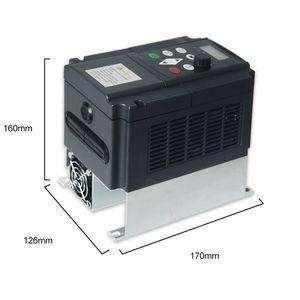 Image 3 - CNWEIKEN مكافحة ناقلات محول تردد 4.0kw مرحلة واحدة 220 فولت إلى ثلاث مراحل 220 فولت محلو التردد المتغير محرك التيار المتردد
