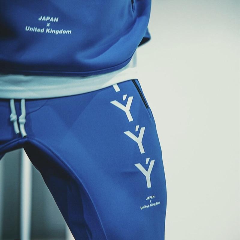 2020 New JAPAN & UK Sport Pants Men Joggers Sweatpants Running Pants Workout Training Trousers Male Gym Fitness Sportswear