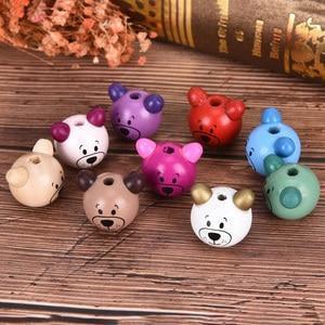 New Arrived 5Pcs 3D Bear Beads