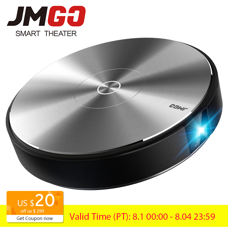 JMGO N7L Full HD Projector 1920 1080P 700 ANSI Lumens Smart Beamer Home Theater Support 4K