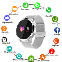Q8 Smart Watch OLED Color Screen Smartwatch men Fashion Fitness Tracker Heart Rate