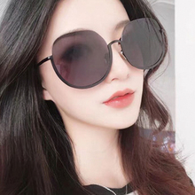 New Fashion Vintage Retro Sunglasses Women Brand Designer Round Semi-Rimless Metal Sun Glasses for UV400 5
