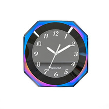 Waterproof Luminous Mount Aluminium Alloy Multifunction Easy Install Environmental Protection Convenient Motorcycle Clock Watch bicycle mounted waterproof shockproof mini aluminium alloy luminous clock watch gold silver