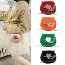 Mini Purses Heart Baby Little Kawaii Pouch Coin Wallet Cross-Body-Bags Small Girls